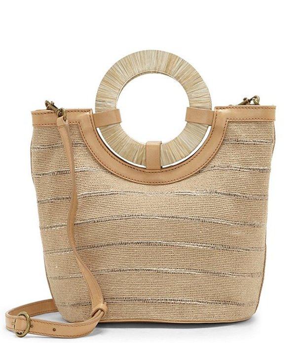 ラッキーブランド レディース ショルダーバッグ バッグ Ason Ring Handle Bucket Bag Natural