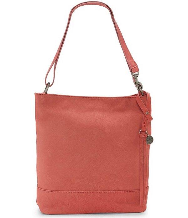 ラッキーブランド レディース ショルダーバッグ バッグ Lina Small Leather Bucket Bag New Coral