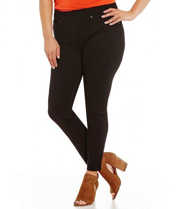 ピーター ナイガード レディース デニムパンツ ボトムス Nygard SLIMS Plus Luxe Denim Skinny Leg Ankle Pants Black
