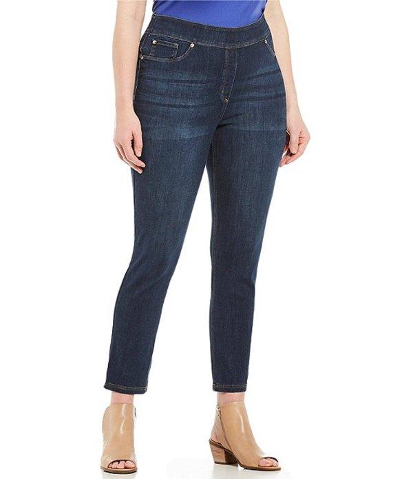 ピーター ナイガード レディース デニムパンツ ボトムス Nygard SLIMS Plus Luxe Denim Skinny Leg Ankle Pants Indigo Wash