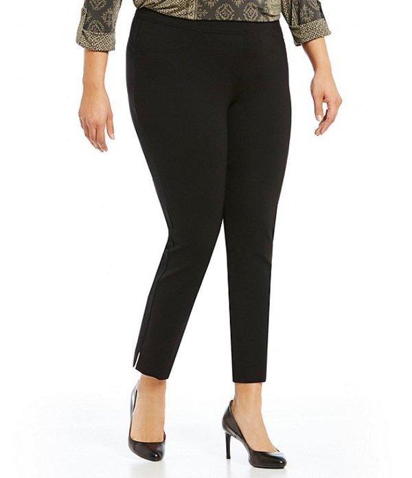 ピーター ナイガード レディース デニムパンツ ボトムス Nygard SLIMS Plus Luxe Slim Ankle Pants Black
