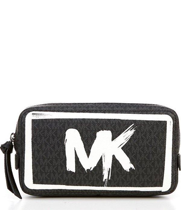 マイケルコース レディース ショルダーバッグ バッグ MICHAEL Michael Kors Signature Logo Belt Bag Black