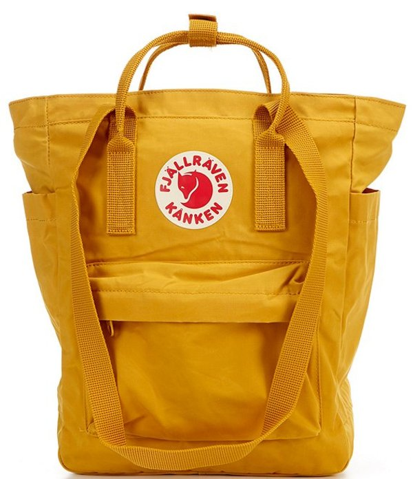 フェールラーベン レディース バックパック・リュックサック バッグ Kanken Convertible Totepack Backpack Ochre