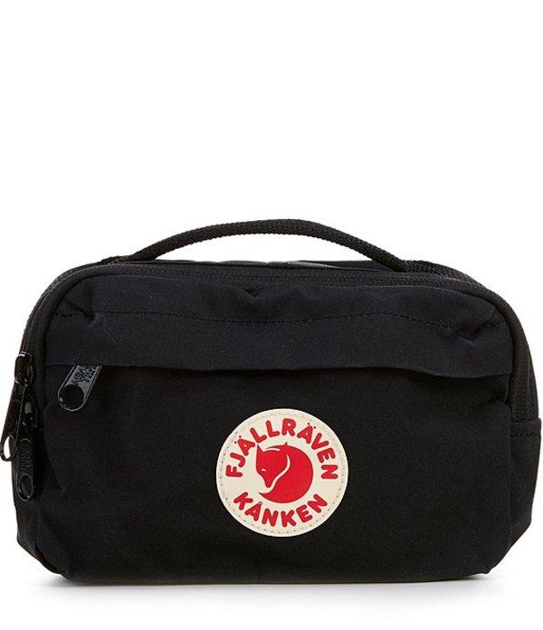 フェールラーベン レディース ショルダーバッグ バッグ Kanken Hip Pack Logo Label Bag Black