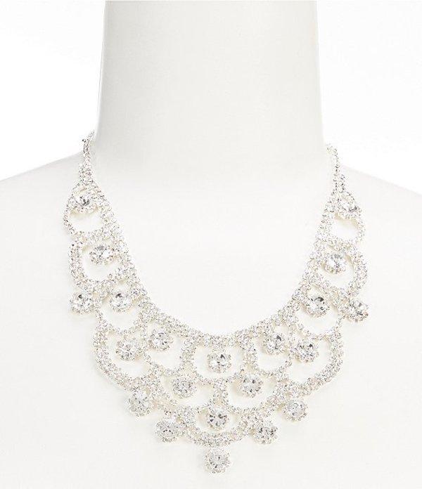 セザンヌ レディース ネックレス・チョーカー アクセサリー Daisy Drape Statement Necklace Silver