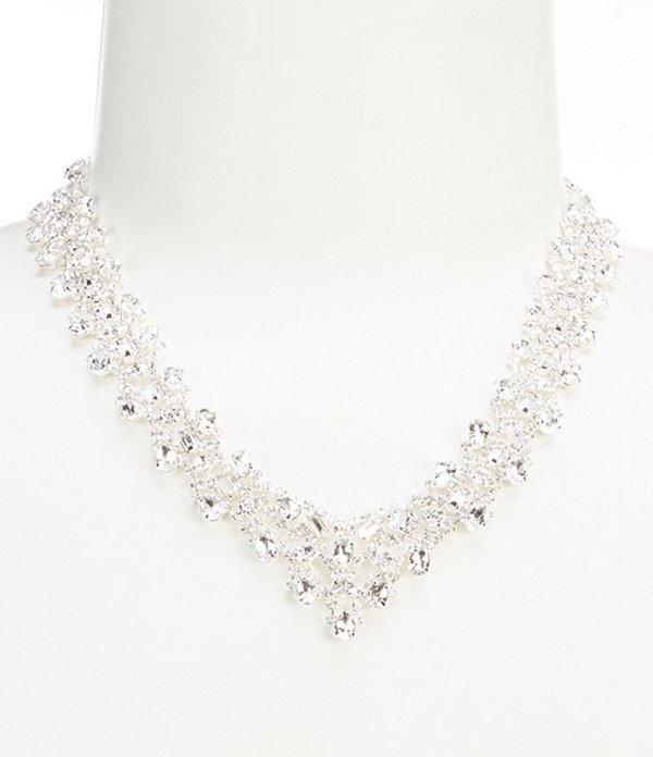 セザンヌ レディース ネックレス・チョーカー アクセサリー Cascading Glitz Statement Necklace Silver