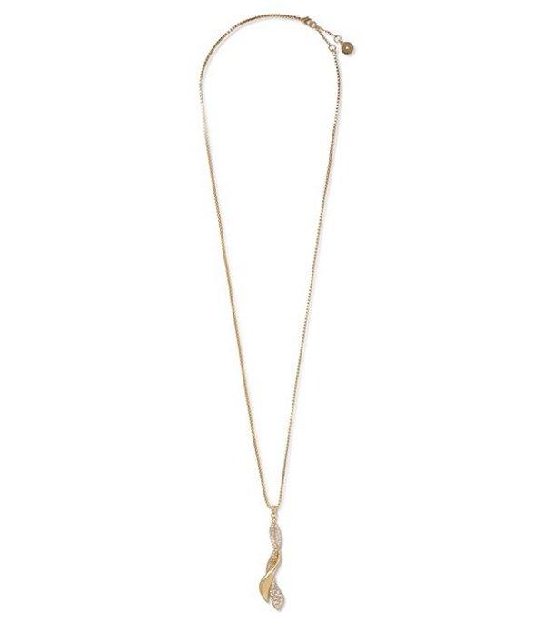 ヴィンスカムート レディース ネックレス・チョーカー アクセサリー Twist Pendant Necklace Gold