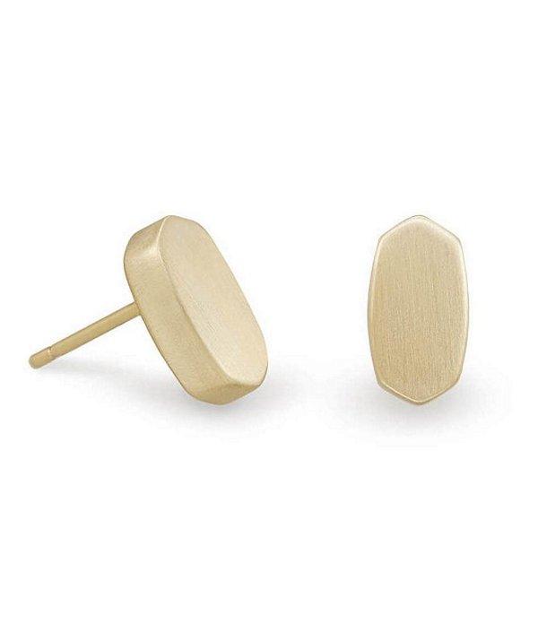 送料無料 サイズ交換無料 ケンドラスコット レディース アクセサリー 通販 ピアス 予約販売品 イヤリング Barrett Stud 14k Gold Earrings Plated
