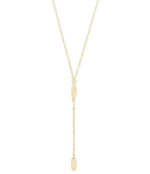 ケンドラスコット レディース ネックレス・チョーカー アクセサリー Fern Y Necklace 14k Gold Plated