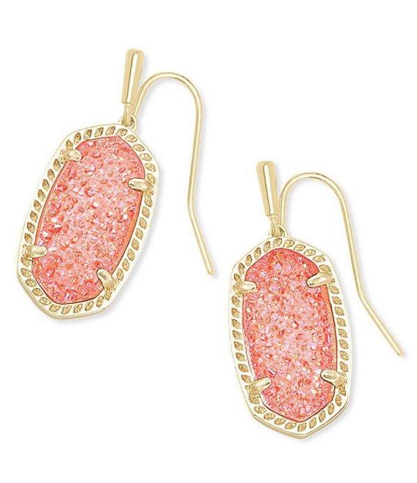 ケンドラスコット レディース ピアス・イヤリング アクセサリー Lee Gold Drop Earrings Coral Drusy