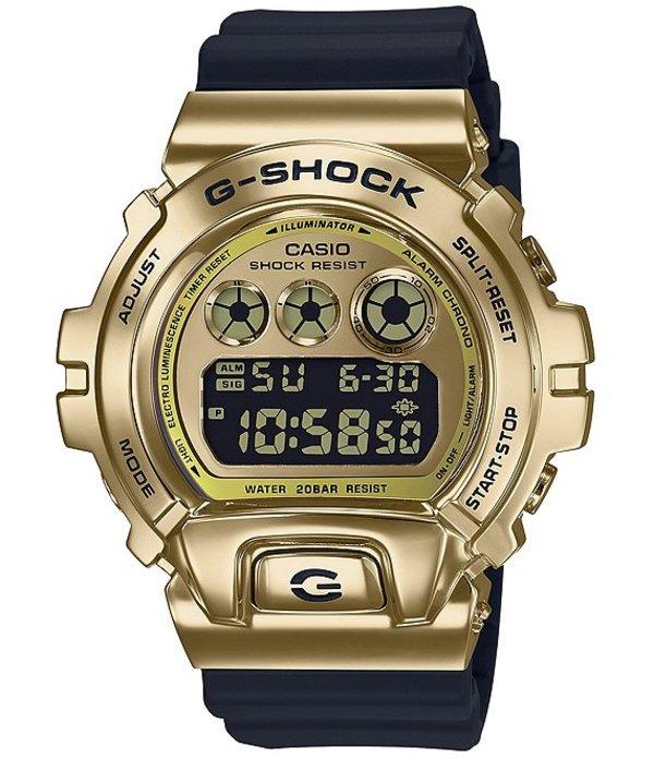 ジーショック メンズ 腕時計 アクセサリー Ana-Digi Black and Gold Resin Watch Black