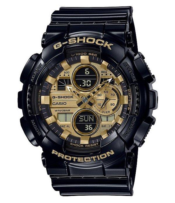 ジーショック メンズ 腕時計 アクセサリー Black Ana-Digi Resin Watch Black
