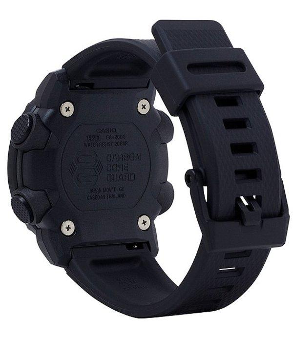 ジーショック メンズ 腕時計 アクセサリー Camo Dial Ana Digi Resin Watch BlackqUpSzVM