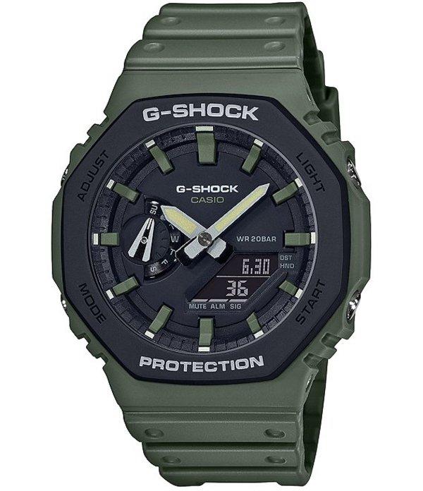 ジーショック メンズ 腕時計 アクセサリー Green Resin Ana-Digi Watch Green