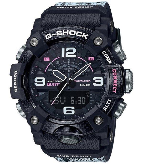 ジーショック メンズ 腕時計 アクセサリー Black Resin Pink Accent Ana-Digi Watch Black
