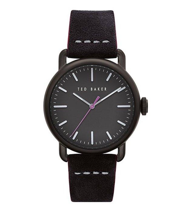 テッドベーカー メンズ 腕時計 アクセサリー Tomcoll Black Three-Hand Watch Black