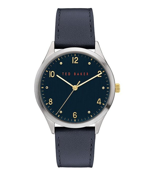 テッドベーカー メンズ 腕時計 アクセサリー Manhatt Blue Three-Hand Watch Blue