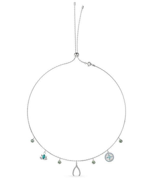 スワロフスキー レディース ネックレス・チョーカー アクセサリー Symbolic Charm Necklace Silver