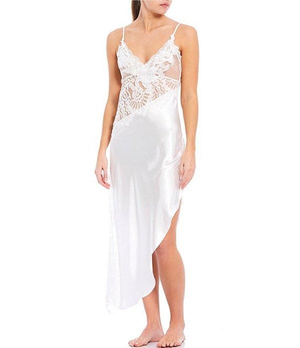 インブルーム レディース ハーフパンツ・ショーツ ボトムス Jonquil Elena Satin & Lace Long Gown Ivory