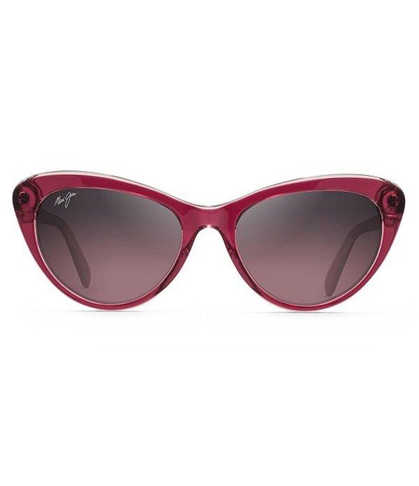 マウイジム レディース サングラス・アイウェア アクセサリー Kalani PolarizedPlus2R 54mm Sunglasses Raspberry