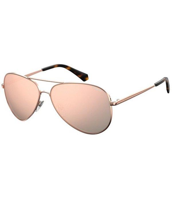 ポラロイド レディース サングラス・アイウェア アクセサリー Polarized Aviator Sunglasses Rose Gold
