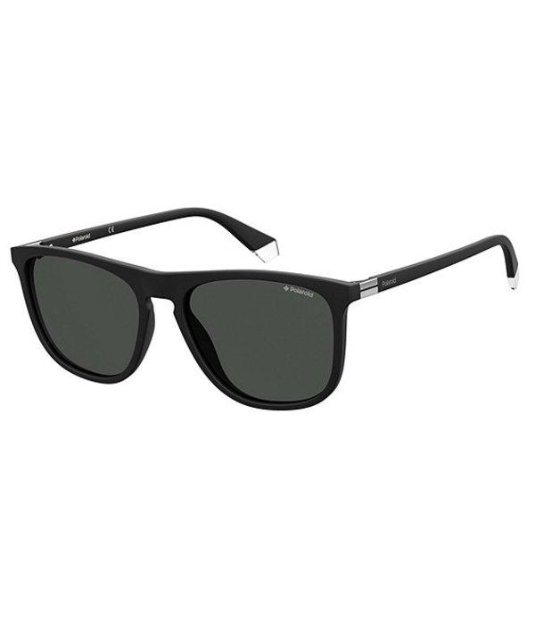 ポラロイド レディース サングラス・アイウェア アクセサリー Polarized Square Sunglasses Matte Black
