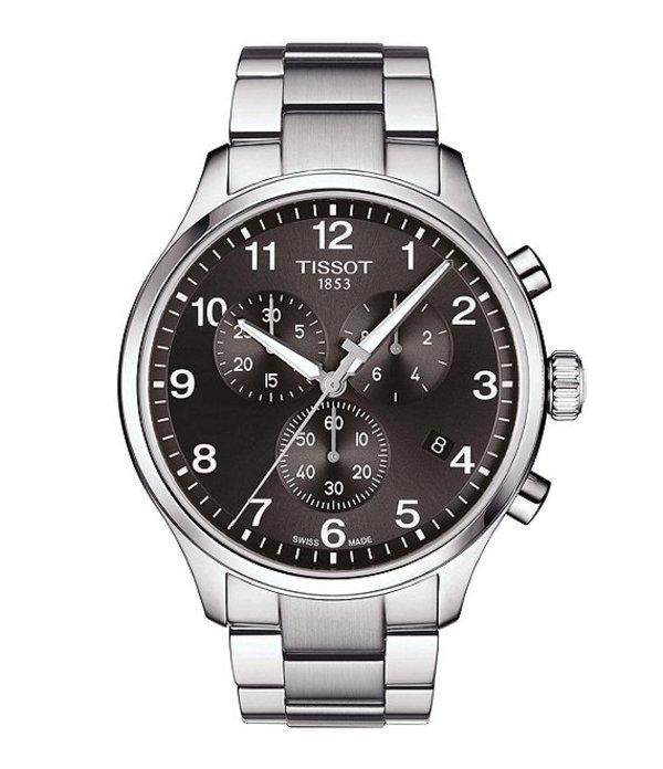 ティソット メンズ 腕時計 アクセサリー Chrono XL Watch Silver