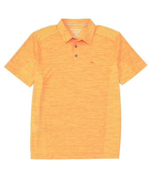 トッミーバハマ メンズ シャツ トップス Palm Coast Short-Sleeve Polo Shirt Orange Peel