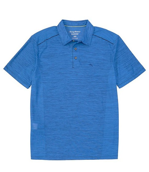 トッミーバハマ メンズ シャツ トップス Palm Coast Short-Sleeve Polo Shirt Turkish Sea
