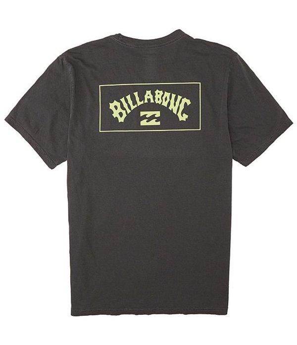 ビラボン メンズ シャツ トップス Short-Sleeve Arch T-Shirt Charcoal
