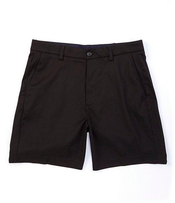 ラウンドトゥリーアンドヨーク メンズ ハーフパンツ・ショーツ ボトムス Big & Tall TotalFLEX 7#double; and 9#double; Inseams Flat Front Shorts Black