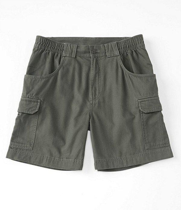 ラウンドトゥリーアンドヨーク メンズ ハーフパンツ・ショーツ ボトムス Big & Tall 7#double; and 9#double; Inseams Hiker Cargo Shorts Green