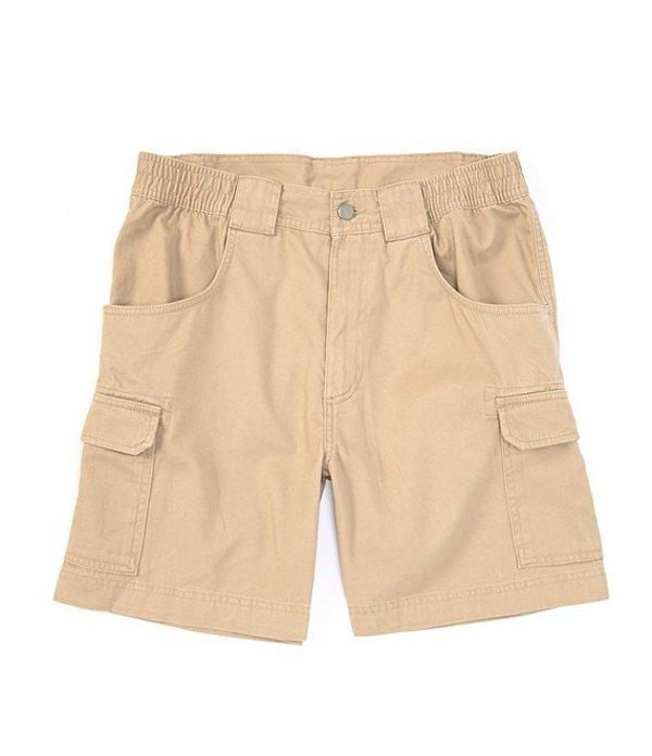 ラウンドトゥリーアンドヨーク メンズ ハーフパンツ・ショーツ ボトムス Big & Tall 7#double; and 9#double; Inseams Hiker Cargo Shorts Khaki
