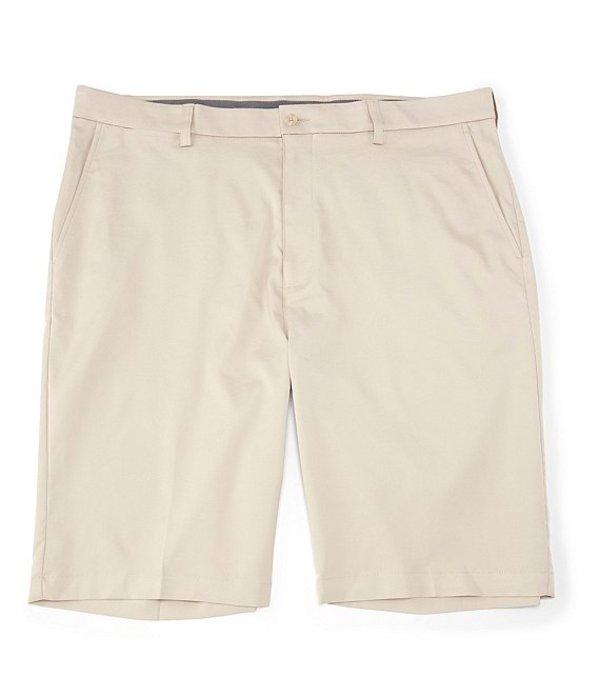 ラウンドトゥリーアンドヨーク メンズ ハーフパンツ・ショーツ ボトムス Performance Big & Tall 9#double; and 11#double; Inseams Flat Front CoreComfort Shorts Stone
