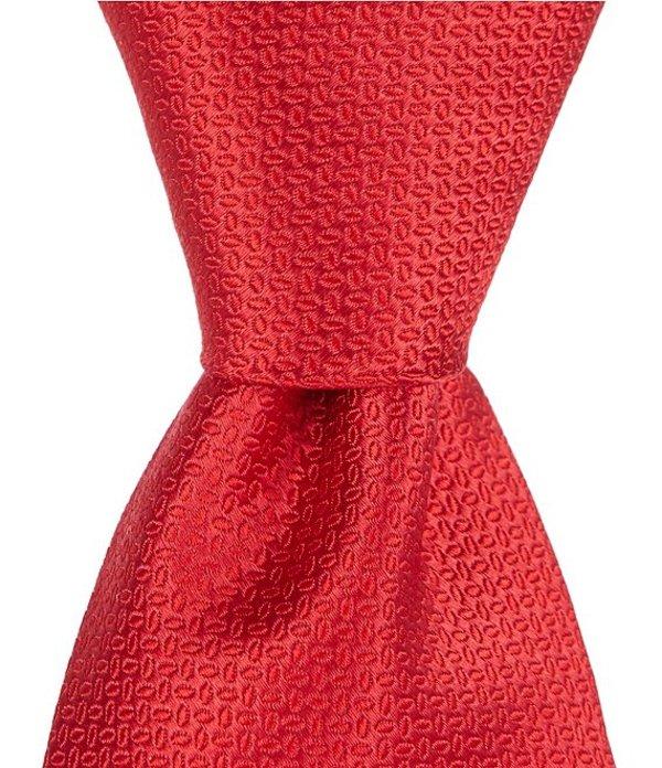 ラウンドトゥリーアンドヨーク メンズ ネクタイ アクセサリー Big & Tall Balford Solid Traditional 3 3/8#double; Silk Tie Red