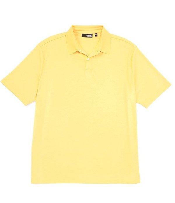 ムラノ メンズ シャツ トップス Liquid Luxury Perfect Short-Sleeve Polo Shirt Gold