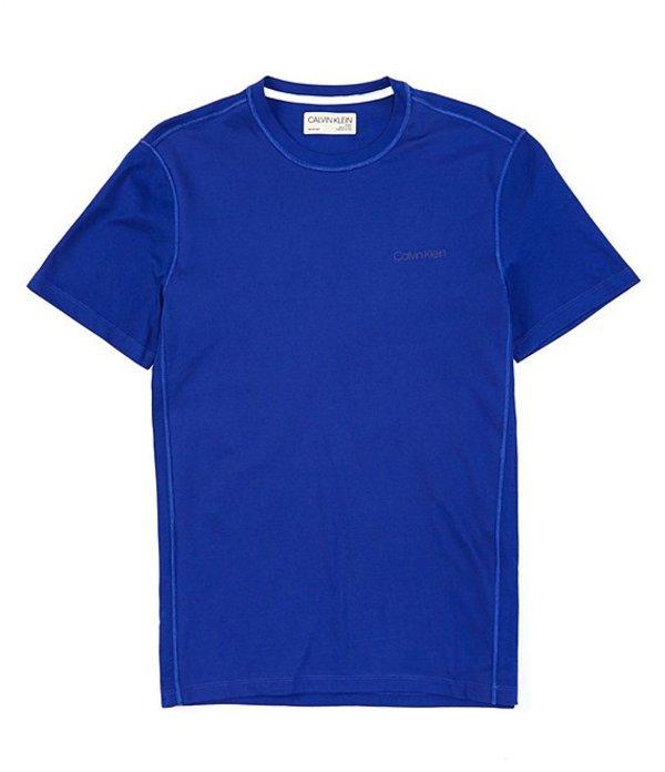 カルバンクライン メンズ シャツ トップス Move Block Logo Short-Sleeve Tee Kinetic Combo