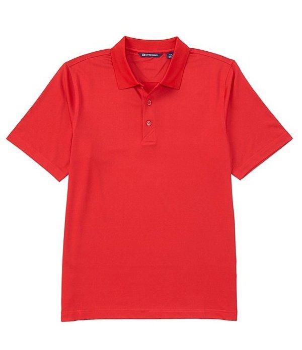 カッターアンドバック メンズ シャツ トップス Forge CB DryTec Short-Sleeve Polo Red