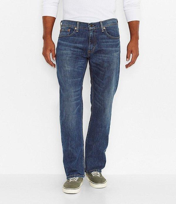 リーバイス メンズ デニムパンツ ボトムス Levi'sR 559 Relaxed Stretch Straight Jeans Steely Blue