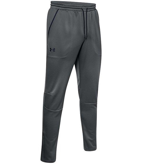 アンダーアーマー メンズ カジュアルパンツ ボトムス Loose MK1 Warmup Tapered Pants Pitch Grey