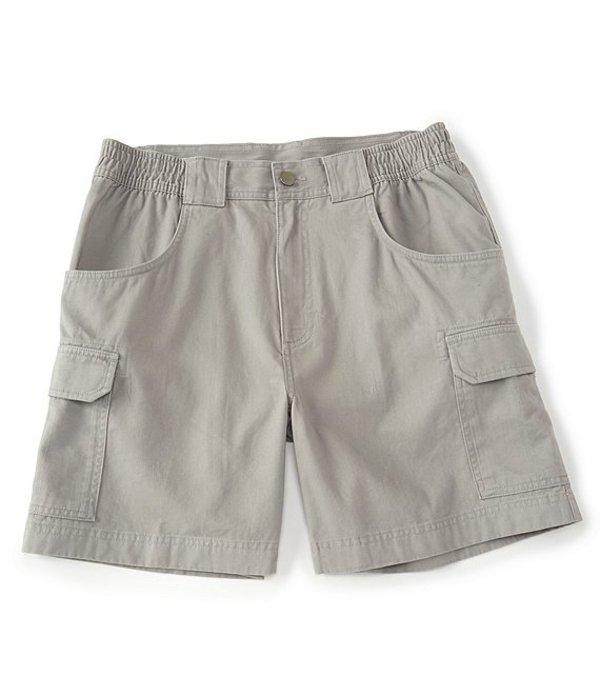 ラウンドトゥリーアンドヨーク メンズ ハーフパンツ・ショーツ ボトムス 7#double; Hiker Cargo Shorts Light Grey
