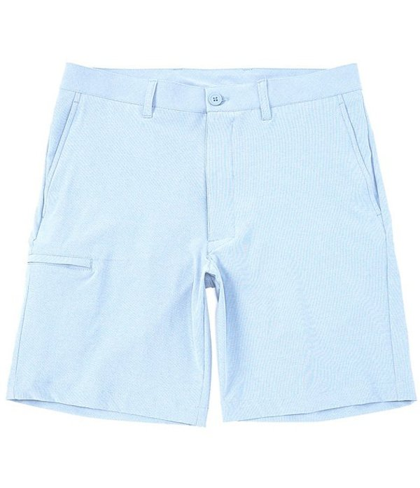 ラウンドトゥリーアンドヨーク メンズ ハーフパンツ・ショーツ ボトムス Performance Flat Front 9#double; Inseam Flex Waist Band Shorts Light Blue