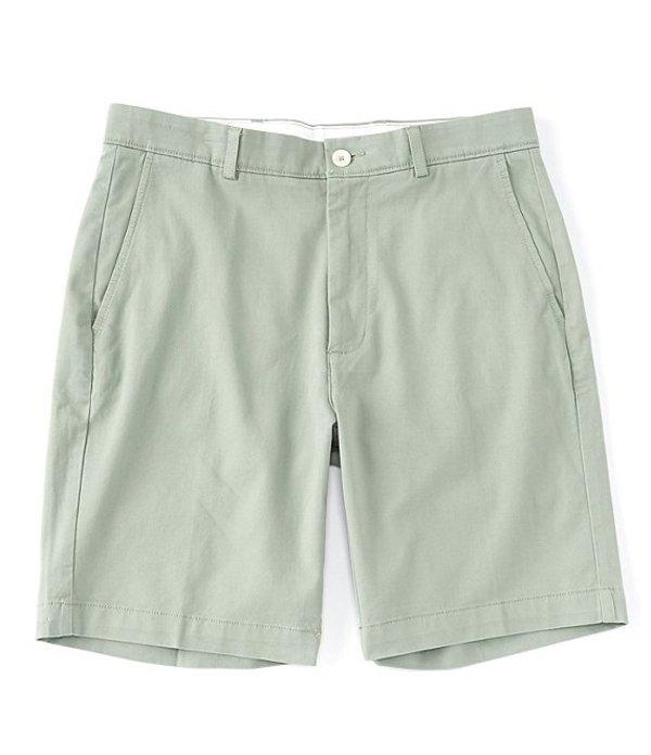 ラウンドトゥリーアンドヨーク メンズ ハーフパンツ・ショーツ ボトムス 9#double; Inseam Flat Front Washed Chino Shorts Green