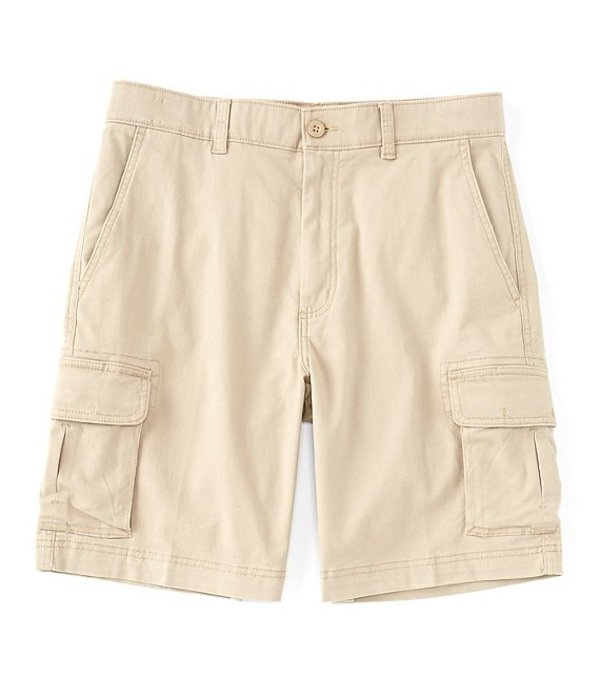 ラウンドトゥリーアンドヨーク メンズ ハーフパンツ・ショーツ ボトムス 9#double; Washed Cargo Shorts Khaki