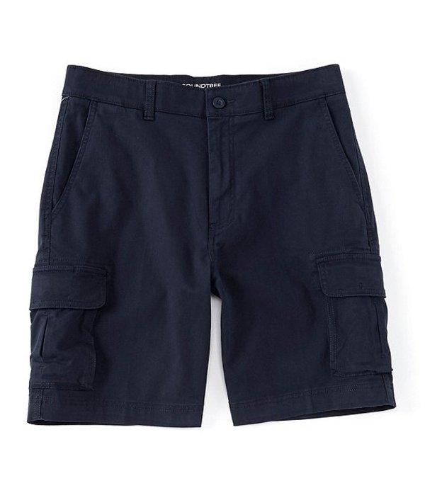 ラウンドトゥリーアンドヨーク メンズ ハーフパンツ・ショーツ ボトムス 9#double; Washed Cargo Shorts Navy