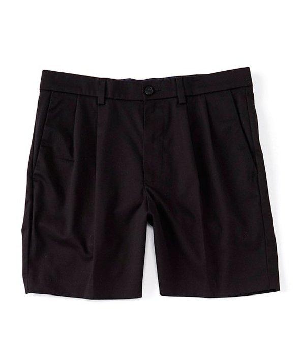 ラウンドトゥリーアンドヨーク メンズ ハーフパンツ・ショーツ ボトムス totalFLEX Pleated 7#double; Inseam Shorts Black
