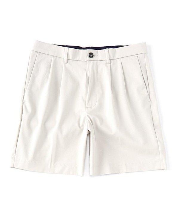 ラウンドトゥリーアンドヨーク メンズ ハーフパンツ・ショーツ ボトムス totalFLEX Pleated 7#double; Inseam Shorts Stone