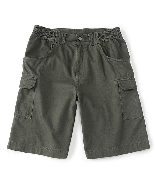 ラウンドトゥリーアンドヨーク メンズ ハーフパンツ・ショーツ ボトムス 11#double; Inseam Hiker Cargo Shorts Green