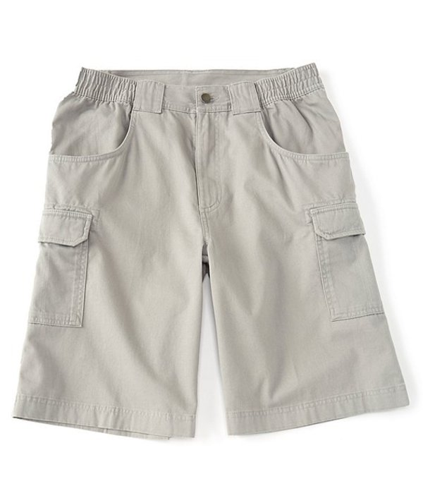ラウンドトゥリーアンドヨーク メンズ ハーフパンツ・ショーツ ボトムス 11#double; Inseam Hiker Cargo Shorts Light Grey