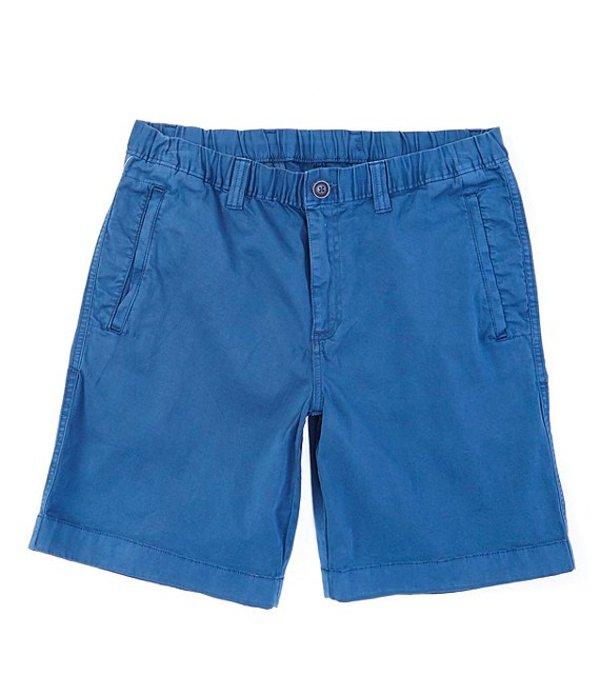 ラウンドトゥリーアンドヨーク メンズ ハーフパンツ・ショーツ ボトムス Flat Front Tech 9#double; Inseam Shorts Blue
